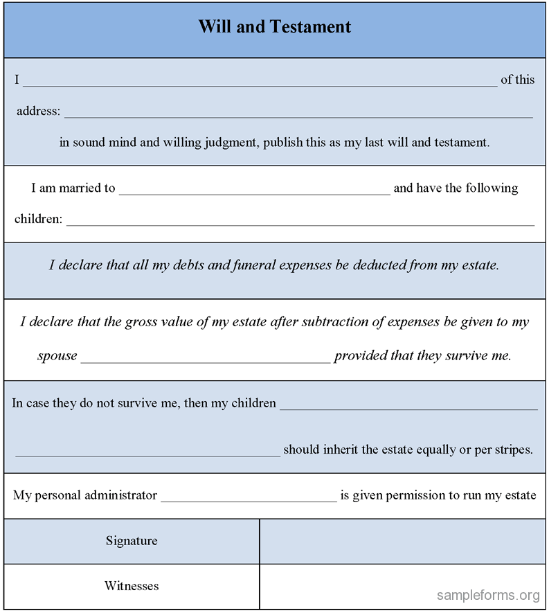 The u k legal wills blog for Wills and testaments templates